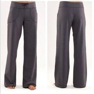 Lululemon- Heathered Black Still Wide Pants- 2